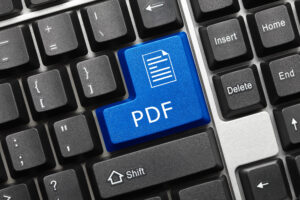 Editing PDF Files Without
