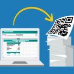 create excel file QR code