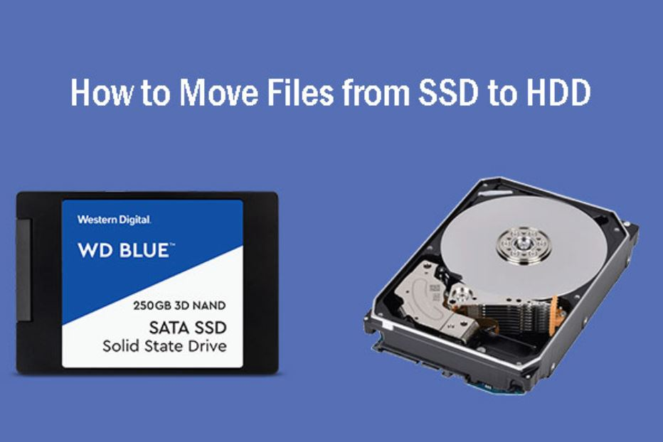 move files from SDD to HDD